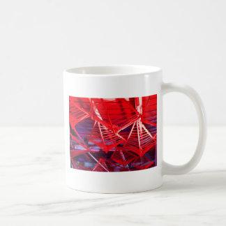 Red Diamond Frames Classic White Coffee Mug