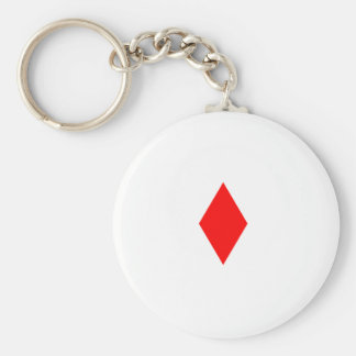 Red Diamond Keychain