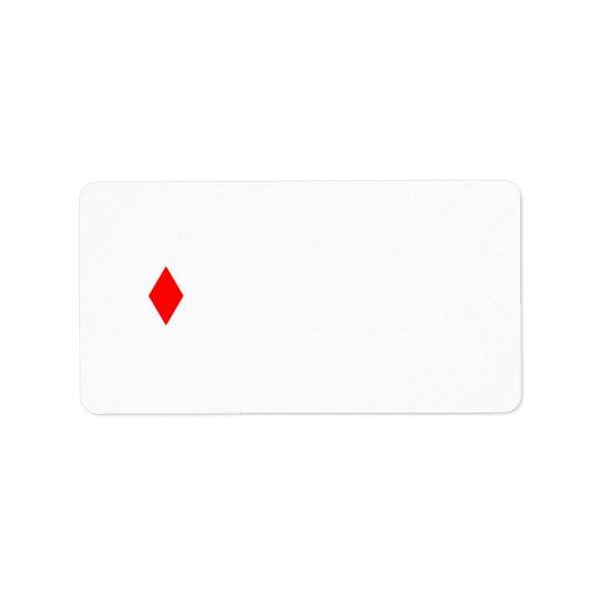 Red Diamond Label