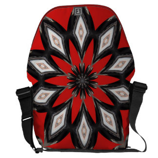 Red Diamond Courier Bags