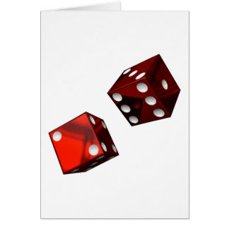 Red Dice Card