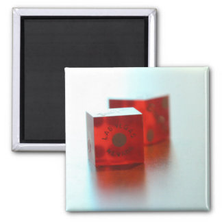 Red Dice Magnet