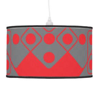 Red Dice Pendant Lamp