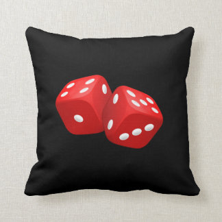 Red Dice Pillows