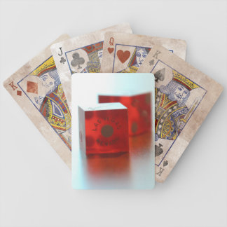 Red Dice Poker Playing Cards