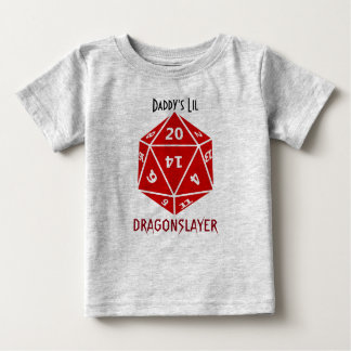 Red Die Awesome Geek Apparel Baby T-Shirt