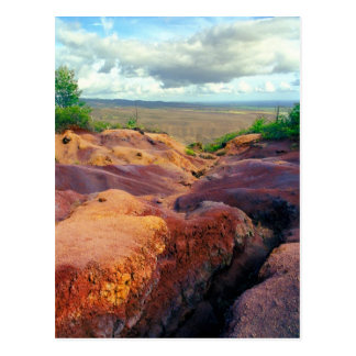 Red Dirt Arroyo - postcard