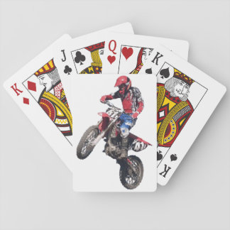 Red Dirt Bike Poker Deck