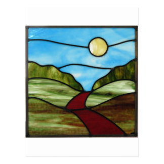 Red Dirt Road in PEI Summer Postcard