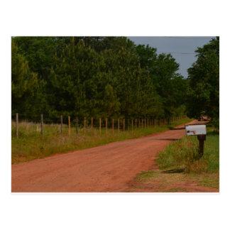 Red Dirt Road Postcard
