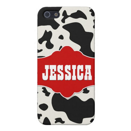 Red Divine Bovine Cases For iPhone 5