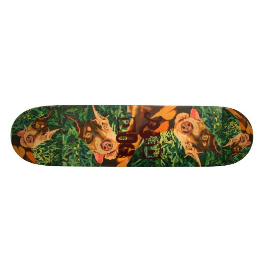 Red Dog Skateboard