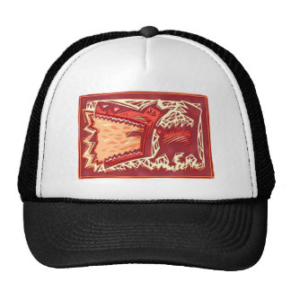 Red Dog Trucker Hat