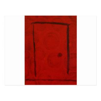 Red Door by S. B. Eazle Postcard