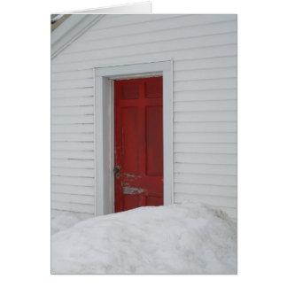 Red Door Card