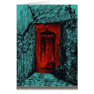 Red Door Note Cards