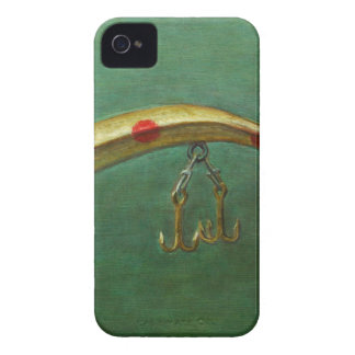 Red Dot Fishing Lure iPhone 4 Cover
