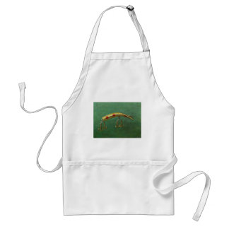 Red Dot Fishing Lure Standard Apron