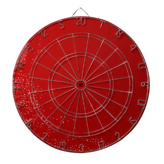 Red Dots Christmas Background Dart Boards