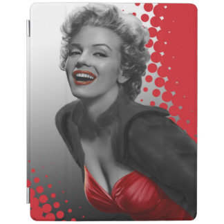 Red Dots Marilyn iPad Cover