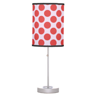 Red Dots Table Lamp