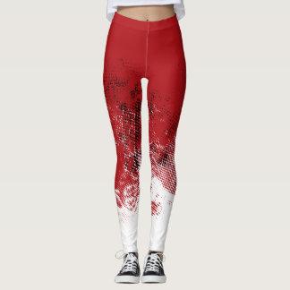 Red Dotty Leggings