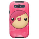 Red Doughnut Galaxy S Case
