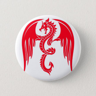 Red Dragaon Red Dragon 2 Inch Round Button