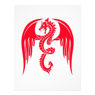 Red Dragaon Red Dragon Personalized Letterhead