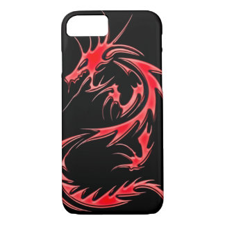 Red Dragon Airbrush Art iPhone 7 Case