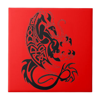 Red Dragon Ceramic Tile