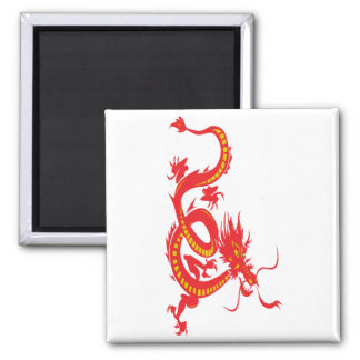 Red Dragon Chinese New Year Magnet