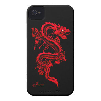 Red Dragon Custom iPhone 4 Case