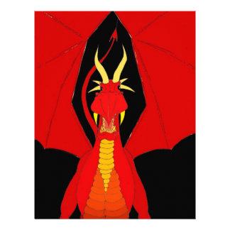 Red Dragon Customized Letterhead