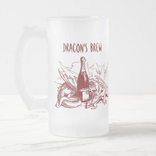 RED DRAGON ~ DRAGON'S BREW! ~ MUG DESIGN