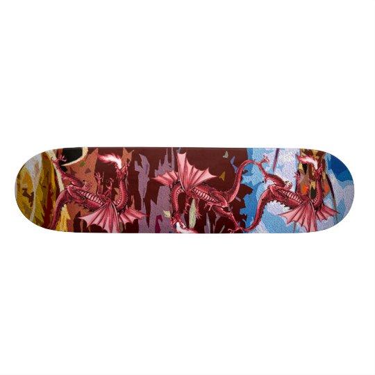 Red Dragon Fantasy Skateboard Decks