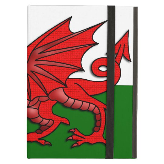 Red Dragon Flag of Wales _ iPad Air Cover