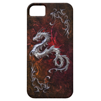 Red dragon for Barely there iPhone 5 Case