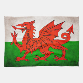 Red Dragon Kitchen Towel