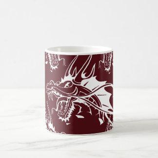 Red Dragon Mythical Creature Cool Fantasy Design Coffee Mug