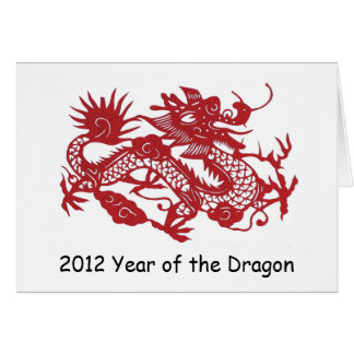 Red Dragon new year's card