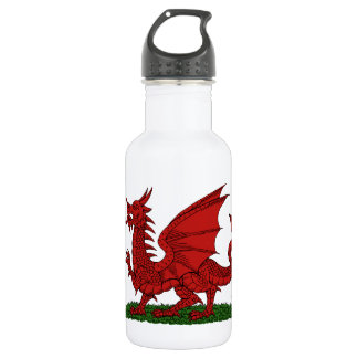 Red Dragon of Wales 532 Ml Water Bottle
