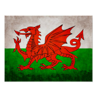 Red Dragon of Wales Poster