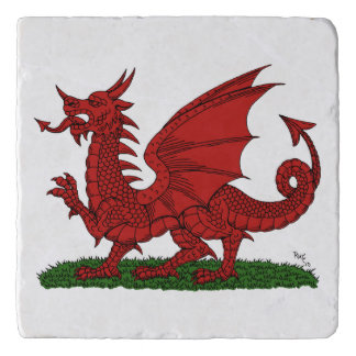 Red Dragon of Wales Trivet