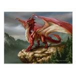 Red Dragon Postcard