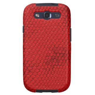 Red Dragon Scales Galaxy S3 Cover
