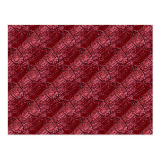 Red Dragon Scales Postcard
