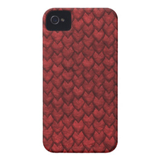 Red Dragon Skin Case-Mate iPhone 4 Cases