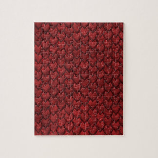 Red Dragon Skin Jigsaw Puzzle