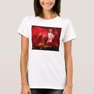Red Dragon Spaghetti Strap T-Shirt